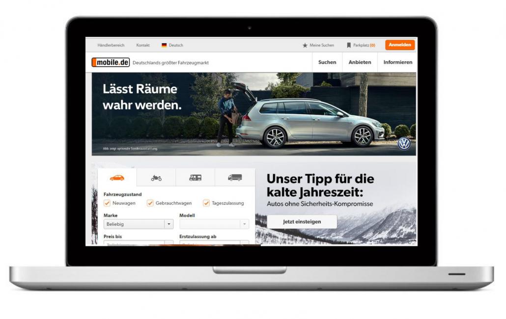 Purpur Media vermarktet den Österreich-Traffic von Mobile.de ...