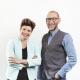 Geschäftsführerin Elisabeth Plattensteiner und Gründer Bernd Platzer von Purpur Media